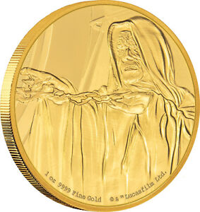 Niue -2018- 1 OZ Gold Proof  Coin-   Star Wars Classic – Emperor Palpatine