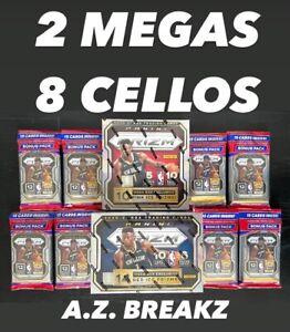 SAN ANTONIO SPURS - 2020-21 PANINI NBA PRIZM - 8 CELLO 2 MEGA BOX BREAK