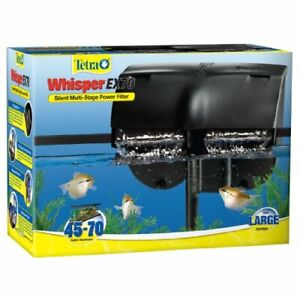 Tetra Whisper EX Silent Multi-Stage Power Filter for Aquariums 45-70 Gallons