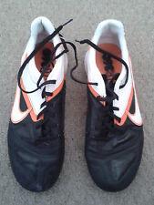 Bambino/Uomo Scarpe da ginnastica Nike (Nero/Bianco/Arancione) - Taglia UK 7
