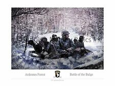 WWII 101st Airborne Battle of the Bulge Print