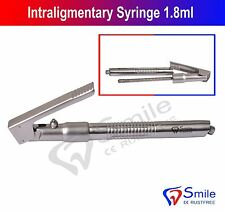 Intraligamentary jeringa Spritze 1.8 Ml en ángulo citoject Pluma cirugía dental CE