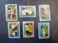 1992 SURINAME ORCHIDS SET OF 6 MINT STAMPS MNH