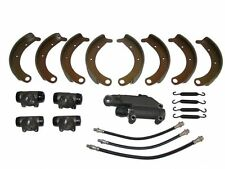 Deluxe Brake Kit with Shoes , Master Wheel Cylinders 1942 Plymouth P14 NEW
