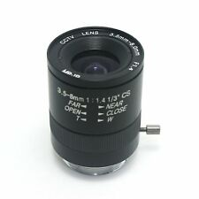 "1/3"" CS manual 3.5-8mm F1.4, 1/3"" CS w/Manual Zoom CCTV Lens for  B/W Camera new"