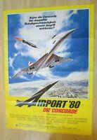 Filmplakat - Airport ´80 Die Concorde ( Sylvia Kristel , Alain Delon )