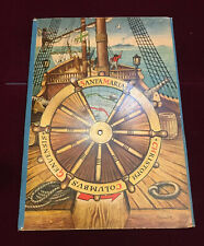 Christopher Columbus 1960 Artia Praga KUBASTA 3D Moving POP-UP Panoramic Book