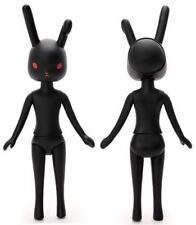 Petworks Usagii 003 Black w/ Red Eye Rabbit Bunny