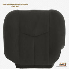 2003 2004 GMC Sierra 2500 2500HD Driver Bottom Dark Gray Cloth Replacement Cover