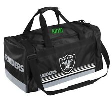 NFL Oakland Raiders Gym Travel Luggage Medium Duffel Bag