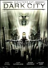 Dark City:Director's Cut. Paranoid's Paradise. Cult Sci-Fi. Brand New In Shrink!