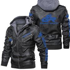 New ListingGresini Racing Motorcycles-Leather Jacket,Unisex Warm Jacket,Winter Outer Wear