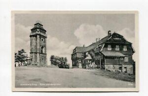 uralte AK Auersberg Erzgebirge Turm und Berghaus 1955 //14