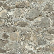 RMK9096WP Weathered Stone Peel & Stick Wallpaper FREE SHIPPING