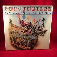 VARIOUS Pop Jubilee 1983 UK 8 X Vinyl LP box set  EXCELLENT CONDITION 70s Hits A