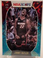 Jimmy Butler Teal Explosion #85 NBA Hoops 2020-21 Parallel Miami Heat