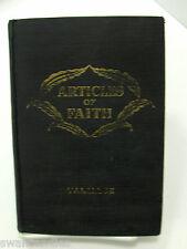 ARTICLES OF FAITH James E Talmage Collectable 1960 Mormon LDS
