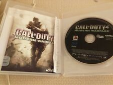 PS3 GAME CALL OF DUTY 4