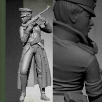 1/35 Resin Figure Model Kit Women Soldier Unpainted Z1G4 m U8G2