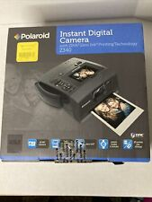 Polaroid Z340 14.0MP Digital Camera - Black bundle with photo paper