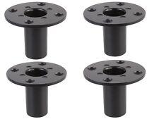4 x PULSE 35mm Metallo interno Altoparlante TOP HAT Tophat Altoparlante Stand Pole Mount
