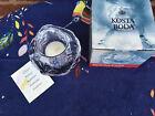 "Kosta Boda Snowball Ann Warff Clear 3"" tall Art Glass Votive Candle Holder - MIB"