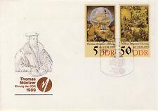 Ersttagsbrief DDR MiNr. 3269, 3272, 500. Geburtstag von Thomas Müntzer (II)