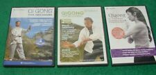 New listing Lot Gaiam & Body Wisdom Qigong Beginners Stress Energy Immunity Chris Pei + Dvds