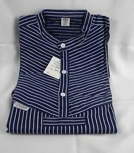 Fischerhemd Finkenwerder Art eingewebte breite Streifen Qualitätshemd 5 bis 7 XL