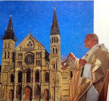 FRANCE  voyage du  Pape Jean-Paul II Vatican Enveloppe PA363