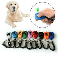 For Pet Dog Cat Training Clicker Click Button Trainer Puppy Obedience Aid Wrist