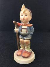 """Little Hiker Hummel Goebel Figurine Vintage Tmk2 Full Bee 16 2/0 Rare 4 1/2"""" Mw"""