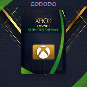 XBOX LIVE 1 MONTH GOLD + Game Pass (Ultimate) Code (2 x 14 Day) INSTANT 24/7