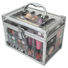 Vanity Case Make Up Cosmetic Set Case Travel Organizer Professional 42 Piece