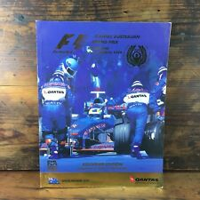 1999 MELBOURNE FORMULA 1 GRAND PRIX OFFICIAL PROGRAM F1 AUSTRALIAN FIA FWC