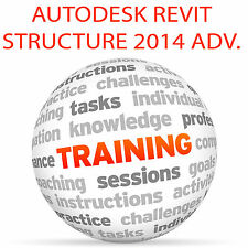 Autodesk Revit Structure 2014 Advanced-Video Tutorial DVD de entrenamiento