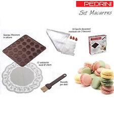 Set Macarons 27 Pezzi Stampo Sacchi Per Decoro Dolci Torta Cake Design Pedrini