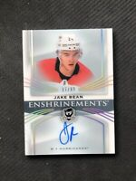 2018-19 UPPER DECK THE CUP JAKE BEAN ROOKIE ENSHRINEMENTS AUTO E-JB #ed 17/99