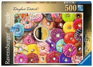 Ravensburger Doughnut Disturb! 500 Pieces Jigsaw Puzzle