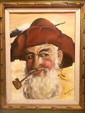 Renaissance Man - Original Oil on Canvas - Betty Allen 1972