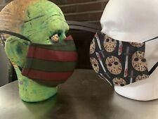 Washable Fashion Cotton Freddy vs. Jason Face Mask Krueger Voorhees Slasher Evil