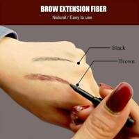 Eyebrow Hair Extension Fiber Building Brow Hair Gel Tint Cream Pen Waterproof
