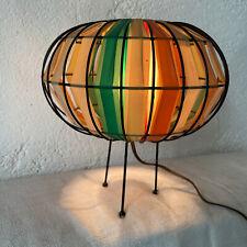 Rare lampe design tripode vintage 1960 60 ancien 1950 50 UFO