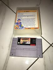 F-Zero (1991) SNES+power Line Rental Case Game Cartridge Only Super Nintendo