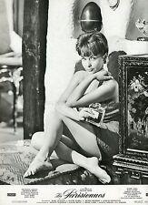 SEXY FRANçOISE ARNOUL LES PARISIENNES 1962 VINTAGE LOBBY CARD #3 LEGGY