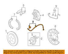 Chevrolet GM OEM 10-13 Camaro Rear Brake-Hydraulic Flex Hose 92229716