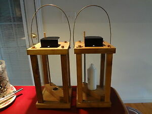 Candle Lantern Kits Easy Build Lot of Two Kits! Boy Scouts Camping!