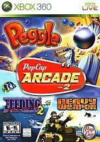 PopCap Arcade Vol. 2 (Microsoft Xbox 360, 2009)no Manual