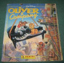 "Album "" OLIVER & COMPANY "" Walt Disney Figurine Panini Anno 1988"