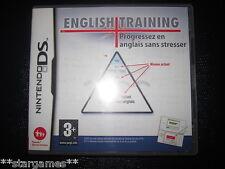 ENGLISH TRAINING DS DSI XL ANGLAIS A PARTIR DE 3 ANS AVEC CODE NON UTILISE